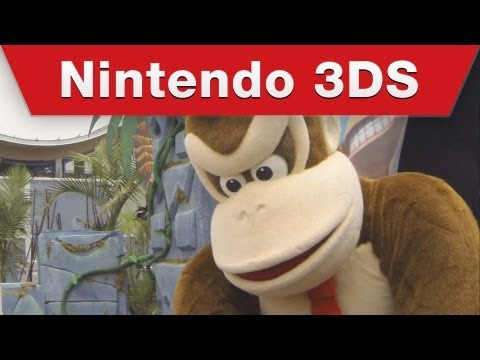 Nintendo 3DS - Donkey Kong Country Returns 3D Surprise