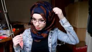 getlinkyoutube.com-Hijab tutorial l Side twist