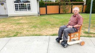 getlinkyoutube.com-How to make a Hoverboard chair