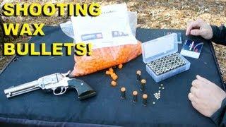 getlinkyoutube.com-Shooting Wax Bullets! DIY Ammo for Cheap Training and Fun