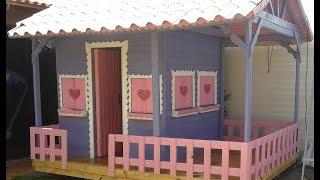 getlinkyoutube.com-como fazer casinha de criança / boneca passo a passo