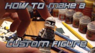 How to make a custom LEGO figure   Basics