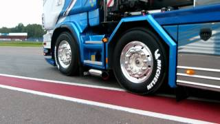 getlinkyoutube.com-Aaltonen Scania V8 Special Transport @ Nordic Trophy pt1