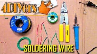 DIY: Ultimate Wire Soldering Guide