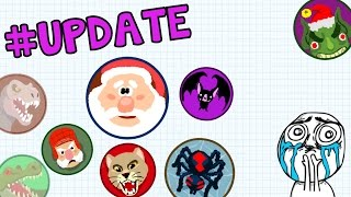 getlinkyoutube.com-AGAR.IO NEW SKINS UPDATE!! - MƓR! ✌ CLAN GAMEPLAY