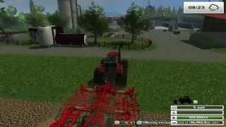 getlinkyoutube.com-FARM SIM SATURDAY new monster tractor and cutting silage