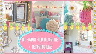 getlinkyoutube.com-DIY: Summer Room Decorations + Ideas for Decorating!! | Jessica Reid