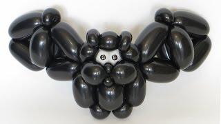 getlinkyoutube.com-Летучая мышь из шаров / Bat of balloons (Subtitles)
