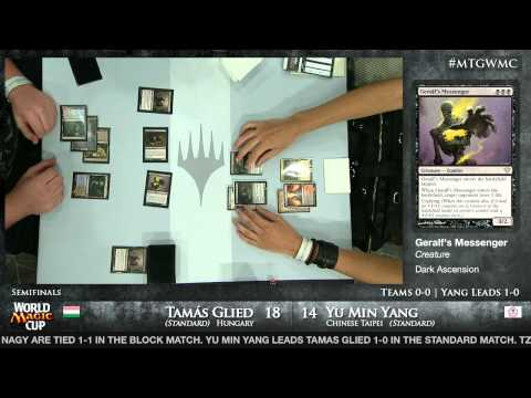 World Magic Cup 2012 Semfinals: Chinese Taipei vs. Hungary