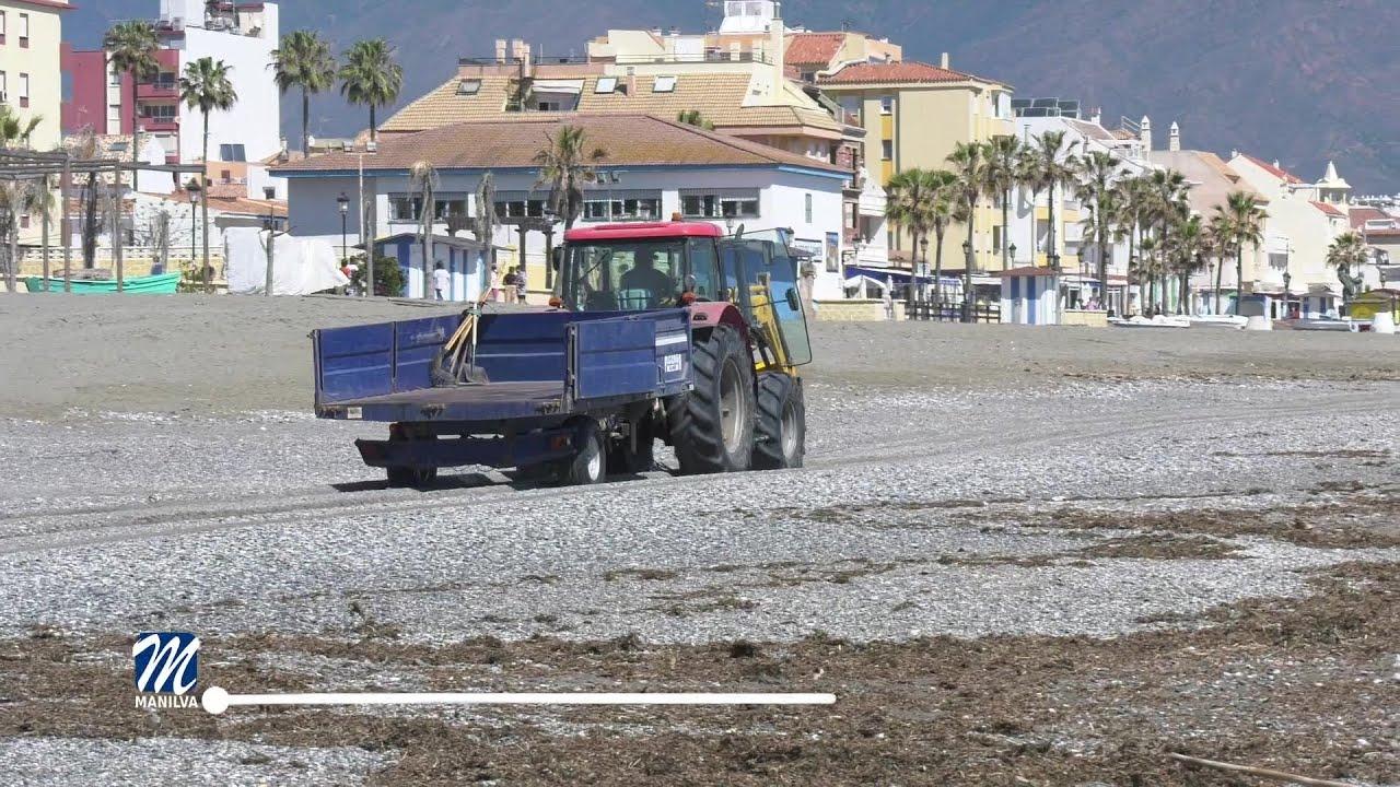 Nuestras playas estarán en perfecto estado de cara a Semana Santa