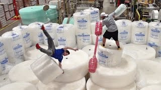 Bubble Wrap Battle | Dude Perfect width=