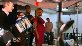 getlinkyoutube.com-Proof that Beyonce is Pregnant! Same Australian Interview, different angles.