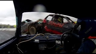 getlinkyoutube.com-Barford Micro Bangers 26/10/14 - TB Race Videos