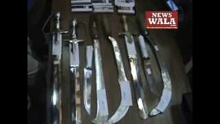 Asad Murder Case: 12 Gangsters held, seized 7 swords and sickles by Hyderabad Police