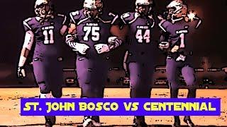 getlinkyoutube.com-St. John Bosco v Corona Centennial : Highlight Mix - CIF Division 1 Southern Regional Game - 2013