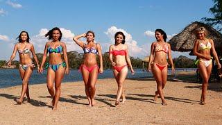 getlinkyoutube.com-Las gladiadoras de Calle 7 lucieron su belleza