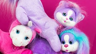 getlinkyoutube.com-Puppy Surprise Kitty Surprise Pony Surprise Animal Toys for Girls & Baby Surprise Kinder Playtime