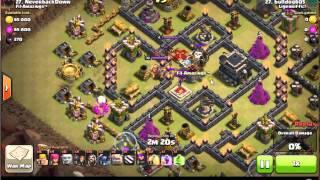 getlinkyoutube.com-clash of clan th9 war base with 3 replays