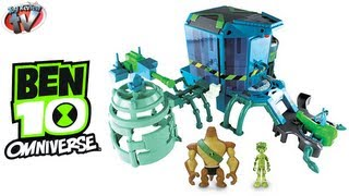getlinkyoutube.com-BEN 10 OMNIVERSE TOYS Alien Transformation Station Playset Toy Review Video