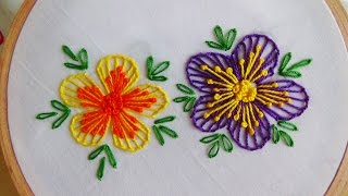 getlinkyoutube.com-Hand Embroidery: Blanket Stitch & Button Hole Stitch
