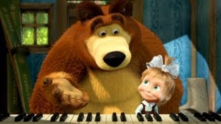 getlinkyoutube.com-Маша и Медведь (Masha and The Bear) - Репетиция оркестра (19 Серия)
