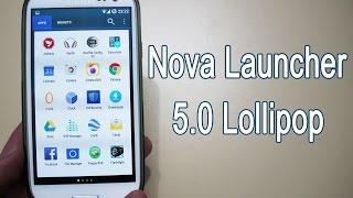 getlinkyoutube.com-Nova Launcher 5.0 Lollipop Material Design Theme (White App Drawer)