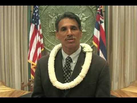 Lt. Governor Aiona on a Hawaii Con Con