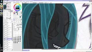getlinkyoutube.com-My Little Pony - Cadence and Chrysalis Art Spotlight