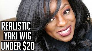 getlinkyoutube.com-REALISTIC YAKI WIG UNDER $20 | Freetress Equal Clary Wig | Ng's Evidence