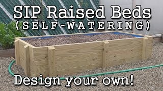 getlinkyoutube.com-Self-watering SIP Sub-irrigated Raised Bed Construction  (How to Build)