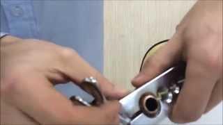 """getlinkyoutube.com-Como usar o flangeador de tubos 3/16"""" a 5/8"""""""