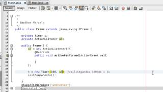 getlinkyoutube.com-Tutorial 31 Java - Timer y JProgressBar