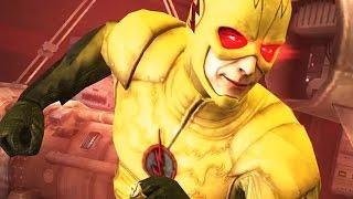 getlinkyoutube.com-Injustice: Gods Among Us - Reverse Flash Super Attack Moves