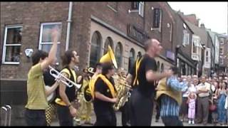 getlinkyoutube.com-Rage Against The Machine - Killing in the Name - Always Drinking Marching Band in Durham