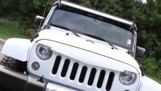 getlinkyoutube.com-2015 White Jeep Wrangler Unlimited Sahara