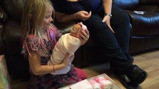 getlinkyoutube.com-Giving my Niece Her Birthday Baby - Doll Break Ep. 175