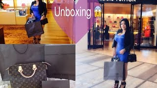 getlinkyoutube.com-Louis Vuitton Speedy NM 30 Unboxig Mi regalo 😱