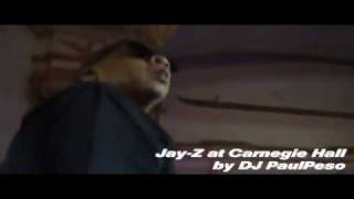 Jay-z - So Ghetto @ Carnegie Hall