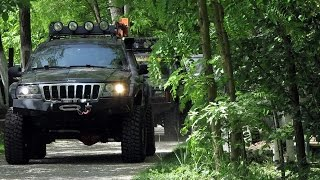 "getlinkyoutube.com-Jeep Grand Cherokee WJ, 6"" lift kit, 35"""