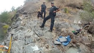 getlinkyoutube.com-Continuous Gold Mining Operation on Video and Police Show Up - Long Version
