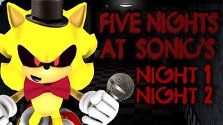 getlinkyoutube.com-FIVE NIGHTS AT SONIC'S - SUPER SONIC EASTER EGG (Golden Freddy) [Night 1 + Night 2 Complete]