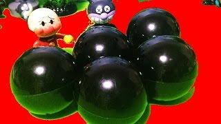 不思議カプセル❤アンパンマン アニメ&おもちゃ ガチャガチャ!Anpanman Toys Animation surprise eggs