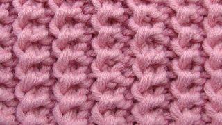 getlinkyoutube.com-Американская резинка Узоры вязания спицами 3