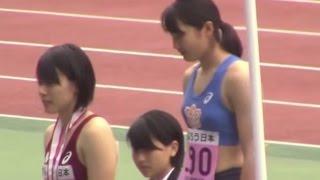 getlinkyoutube.com-2015関東インカレ陸上 女子棒高跳 表彰式 日体大エッサッサ