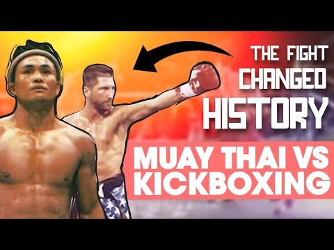 Muay Thai vs. Kickboxing Breakdown: