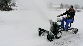 getlinkyoutube.com-Snow Blower Sulky