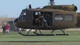Bell UH-1 Huey Turbine Start Up