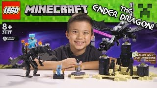 getlinkyoutube.com-LEGO MINECRAFT - Set 21117 THE ENDER DRAGON - Unboxing, Review, Time-Lapse Build
