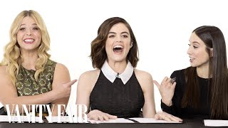 getlinkyoutube.com-The Cast of Pretty Little Liars Takes a Lie Detector Test