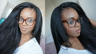 getlinkyoutube.com-CROCHET BRAIDS WITH KANEKALON HAIR | INVISIBLE KNOT